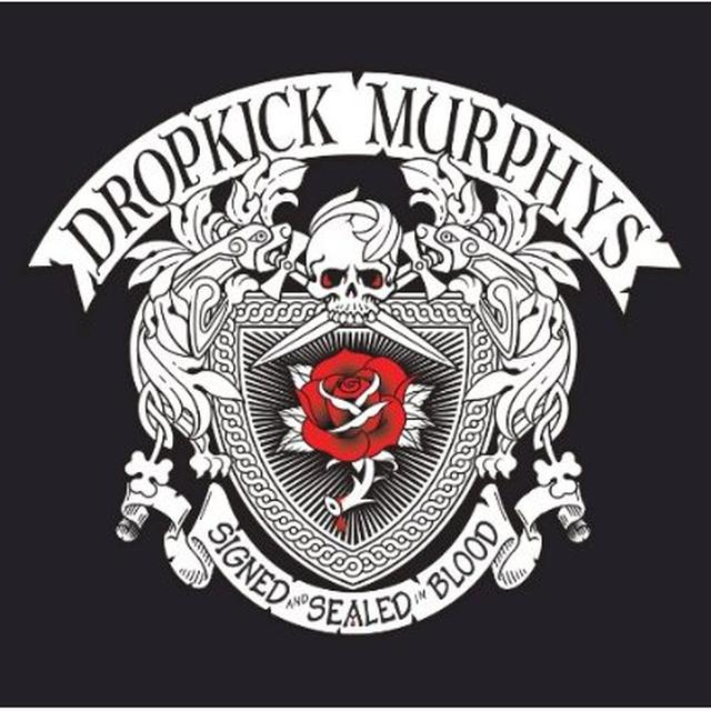 Dropkick Murphys SIGNED & SEALED IN BLOOD Vinyl Record