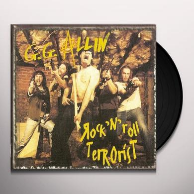 Gg Allin ROCK'N'ROLL TERRORIST Vinyl Record