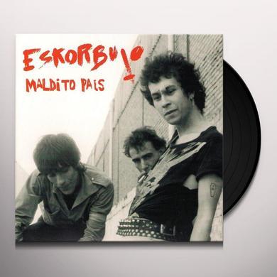 Eskorbuto MALDITO PAIS Vinyl Record