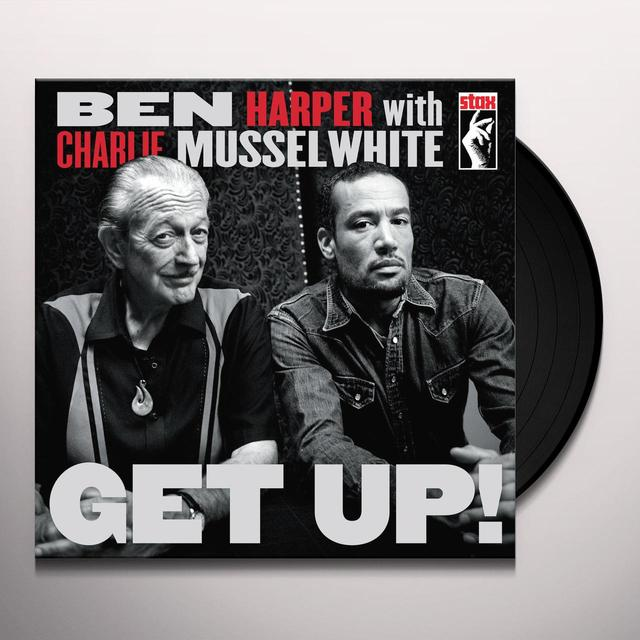 Ben Harper / Charlie Musselwhite GET UP Vinyl Record