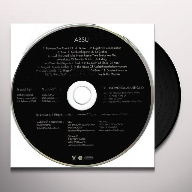 ABSU Vinyl Record - UK Release