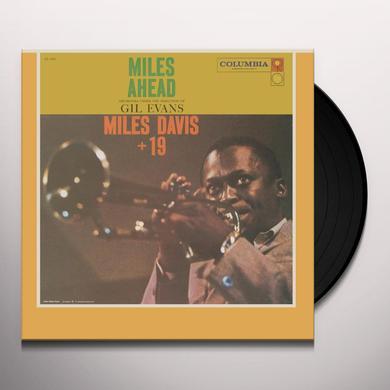 Miles Davis MILES AHEAD Vinyl Record - Mono