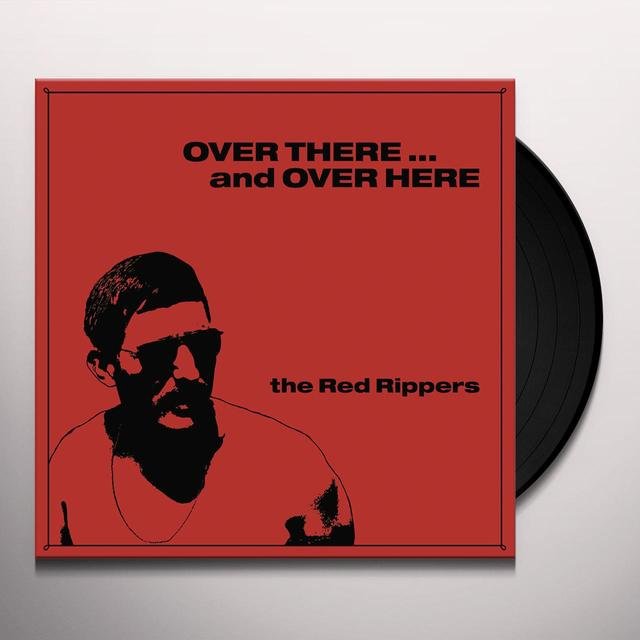 Red Rippers OVER THERE & OVER HERE Vinyl Record