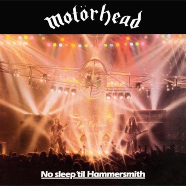 Motorhead NO SLEEP TIL HAMMERSMITH Vinyl Record - Reissue