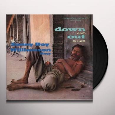Sonny Boy Williamson DOWN & OUT BLUES Vinyl Record - 180 Gram Pressing, Reissue