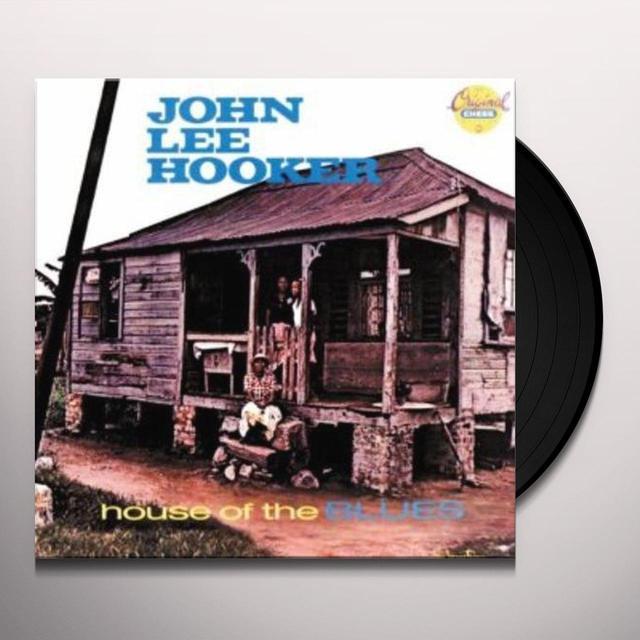 John Lee Hooker HOUSE OF THE BLUES Vinyl Record - 180 Gram Pressing, Reissue