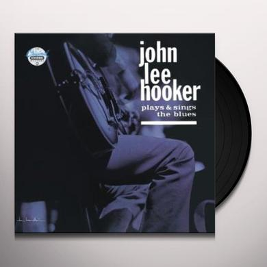 John Lee Hooker PLAYS & SINGS THE BLUES Vinyl Record - 180 Gram Pressing, Reissue