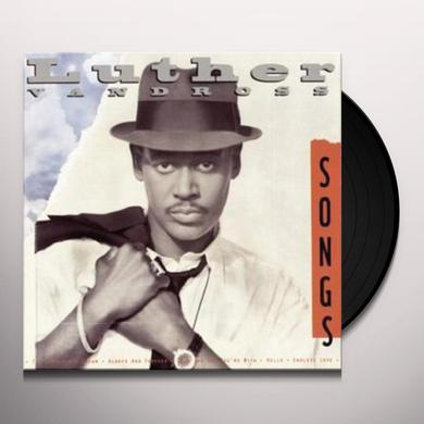 Luther Vandross SONGS Vinyl Record