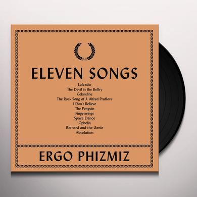 Ergo Phizmiz ELEVEN SONGS Vinyl Record
