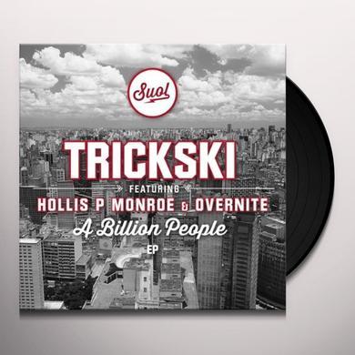 Trickski BILLION PEOPLE (EP) Vinyl Record