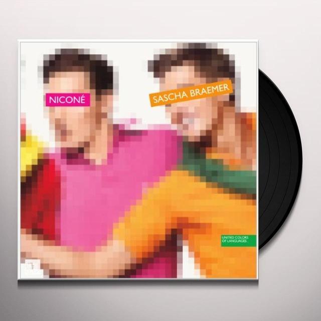 Sascha Nicone / Braemer UNITED COLORS OF LANGUAGE Vinyl Record