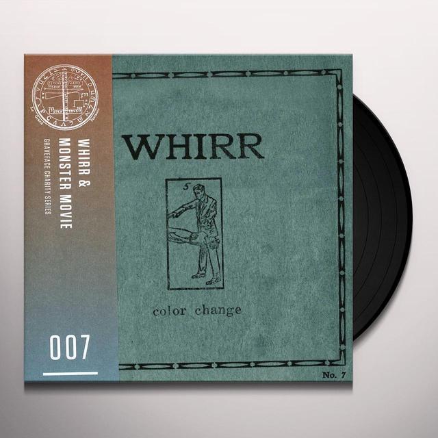 Whirr & Monster Movie COLOR CHANGE / FLATLINING Vinyl Record