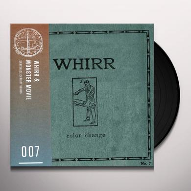 Whirr & Monster Movie COLOR CHANGE / FLATLINING Vinyl Record
