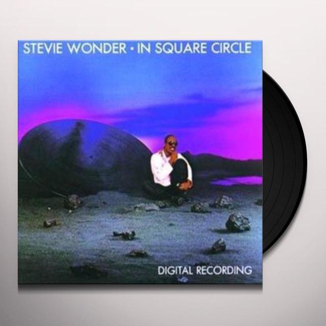 Stevie Wonder IN SQUARE CIRCLE Vinyl Record - Reissue