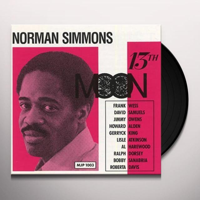 Norman Simmons 13TH MOON Vinyl Record