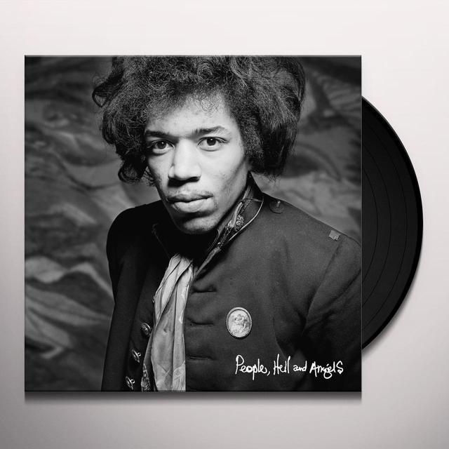 Jimi Hendrix PEOPLE HELL & ANGELS Vinyl Record - 200 Gram Edition