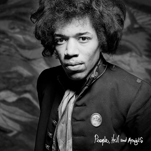 Jimi Hendrix PEOPLE HELL & ANGELS Vinyl Record