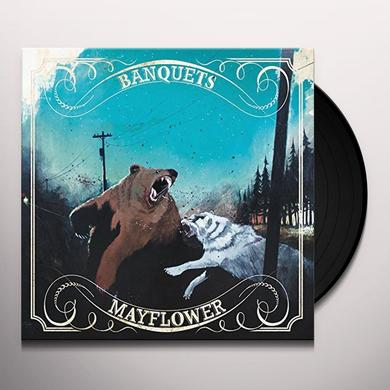 Banquets & Mayflower SPLIT Vinyl Record