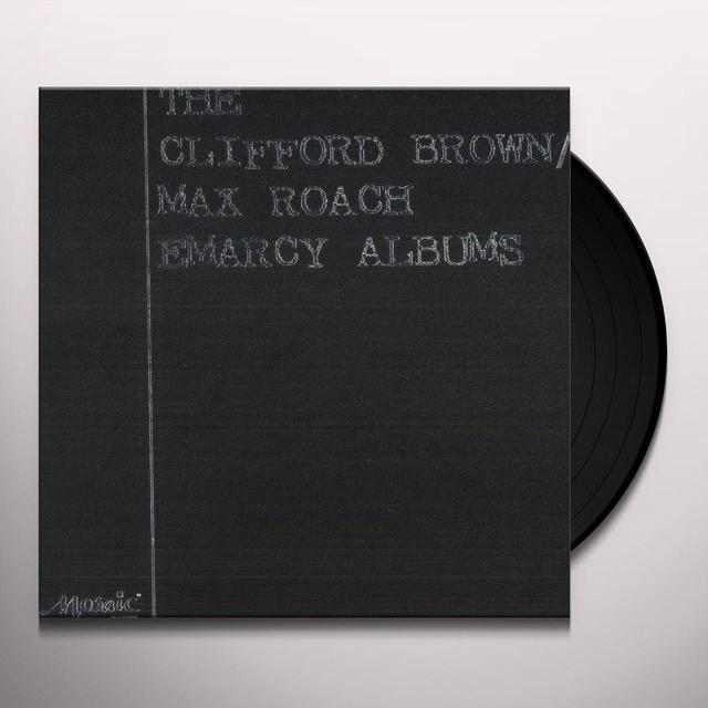 Clifford Brown & Max Roach CLIFFORD BROWN / MAX ROACH EMARCY ALBUMS Vinyl Record - Limited Edition