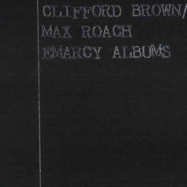 Clifford Brown & Max Roach CLIFFORD BROWN / MAX ROACH EMARCY ALBUMS Vinyl Record