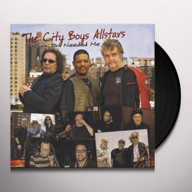 The City Boys Allstars WHEN YOU NEEDED ME Vinyl Record