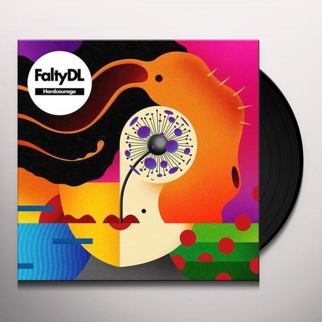 Falty Dl HARDCOURAGE Vinyl Record