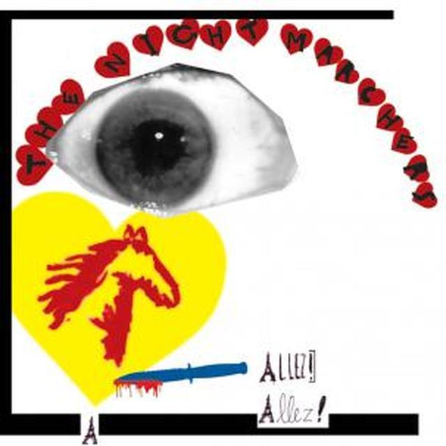 Night Marchers ALLEZ ALLEZ Vinyl Record