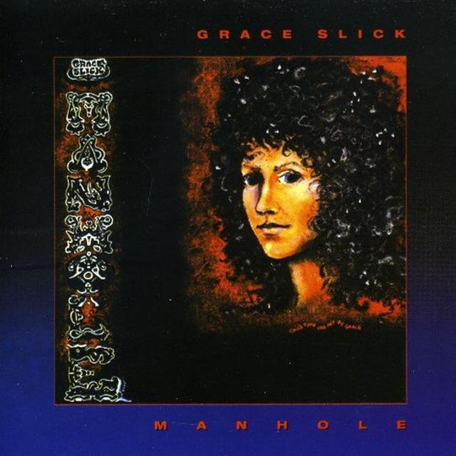 Grace Slick MANHOLE Vinyl Record