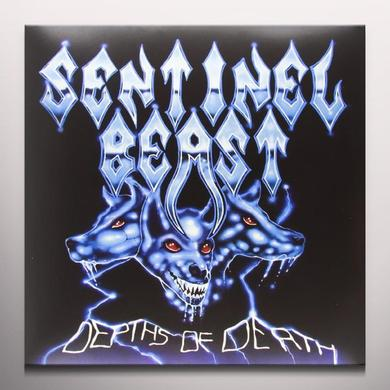 Sentinel Beast DEPTHS OF DEATH Vinyl Record - Colored Vinyl