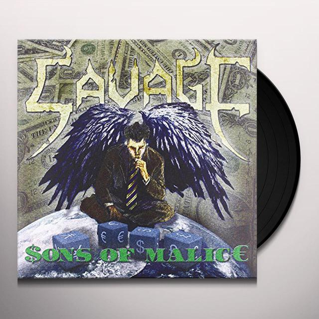 Savage SONS OF MALICE Vinyl Record