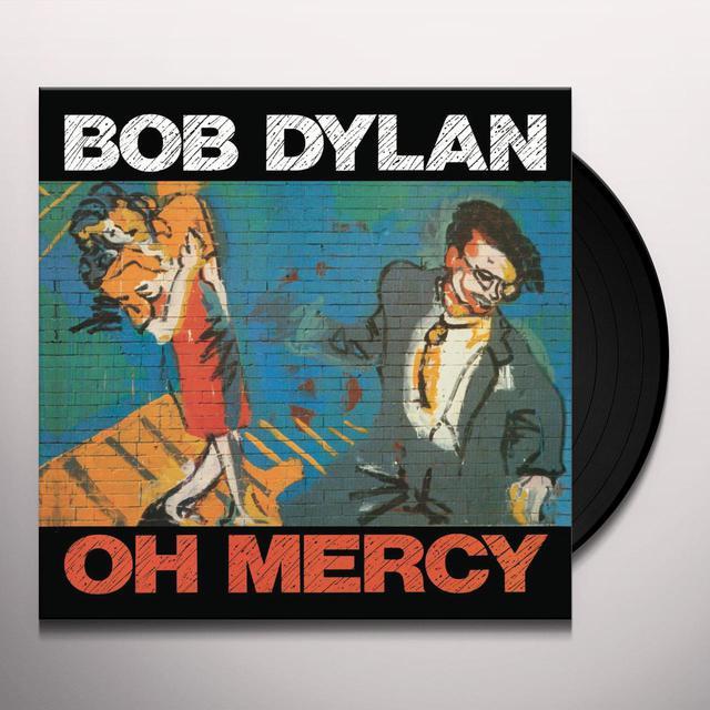 Bob Dylan OH MERCY Vinyl Record