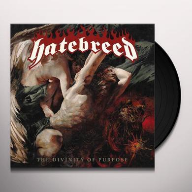 Hatebreed DIVINITY OF PURPOSE (BONUS TRACK) Vinyl Record - Limited Edition