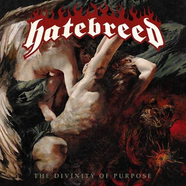 Hatebreed DIVINITY OF PURPOSE (BONUS TRACK) Vinyl Record - Limited Edition