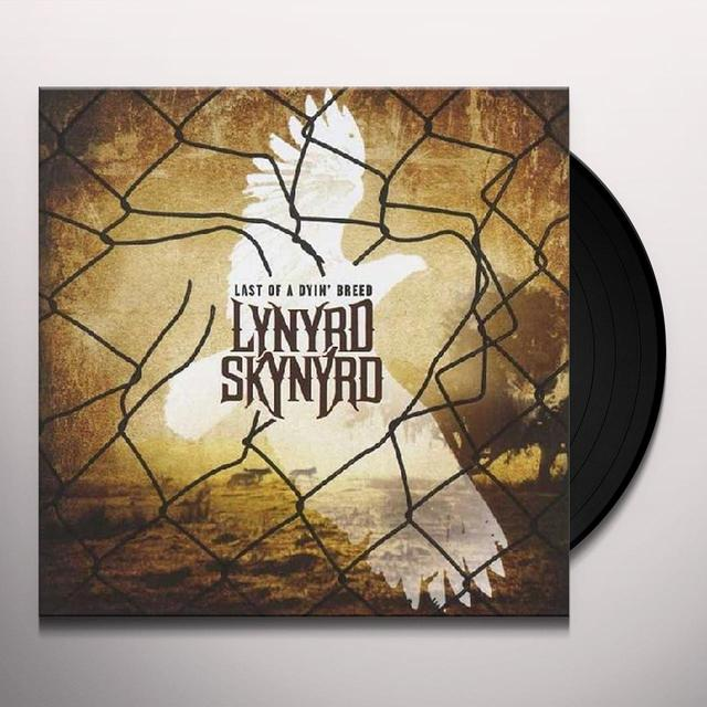 Lynyrd Skynyrd LAST OF A DYIN BREED Vinyl Record