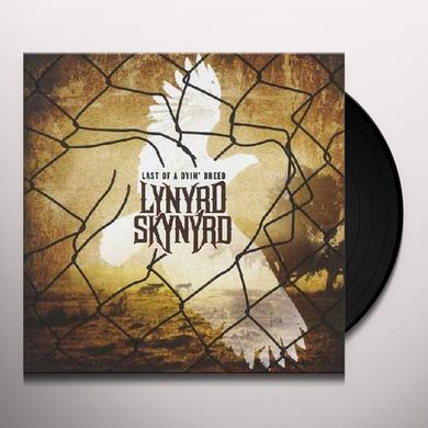 Lynyrd Skynyrd LAST OF A DYIN BREED Vinyl Record - 180 Gram Pressing