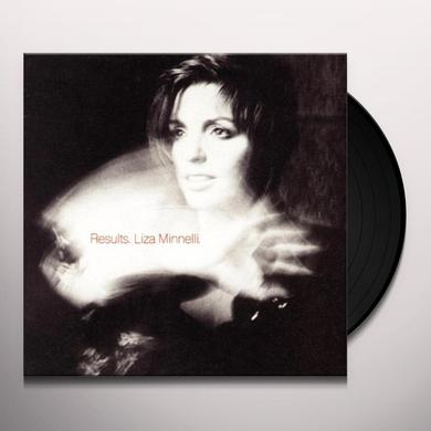 Liza Minnelli RESULTS Vinyl Record - UK Import