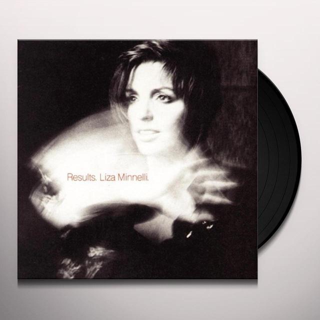 Liza Minnelli RESULTS Vinyl Record