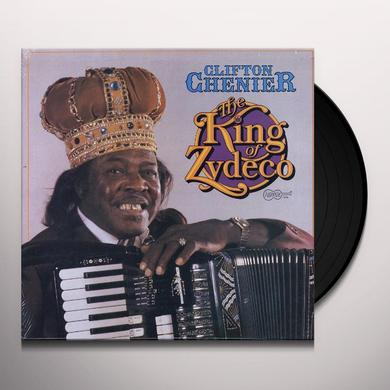 Clifton Chenier KING OF ZYDECO Vinyl Record