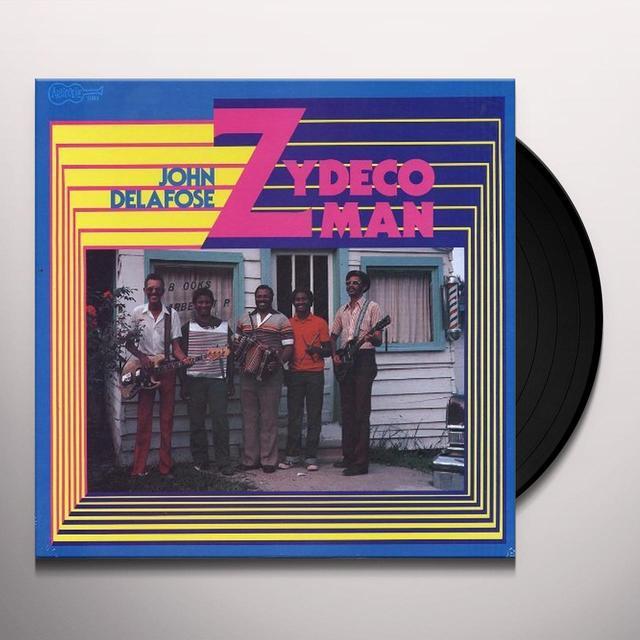 John Delafose ZYDECO MAN Vinyl Record