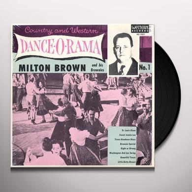 Milton Brown & His Musical Brownies COUNTRY & WESTERN DANCE-O-RAMA Vinyl Record