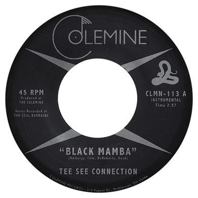 Tee See Connection BLACK MAMBA / TAKE MY BREATH AWAY Vinyl Record