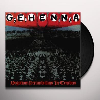 Gehenna NEGOTIUM PERAMBULANS IN TENEBRIS Vinyl Record