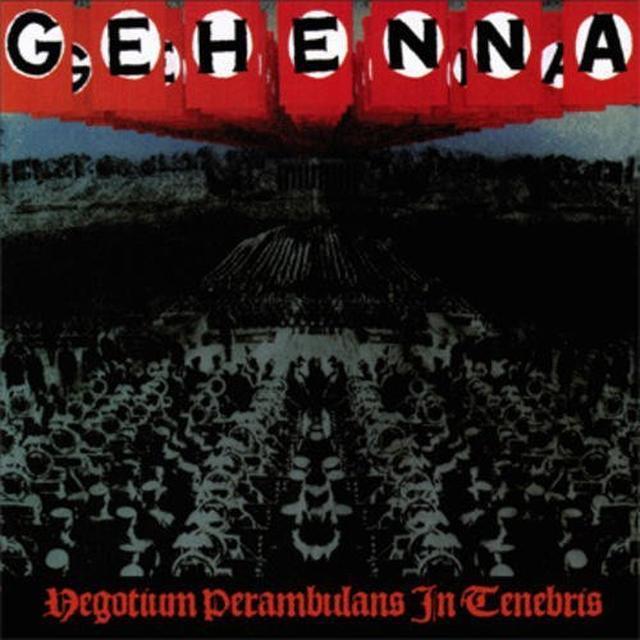 Gehenna EGOTIUM PERAMBULANS IN TENEBRIS Vinyl Record - Poster