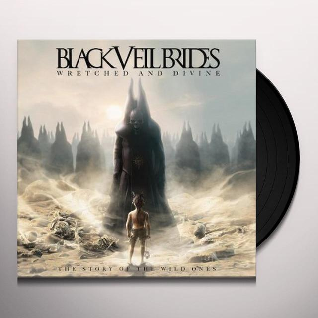 Black Veil Brides WRETCHED & DIVINE: THE STORY OF THE WILD ONES Vinyl Record