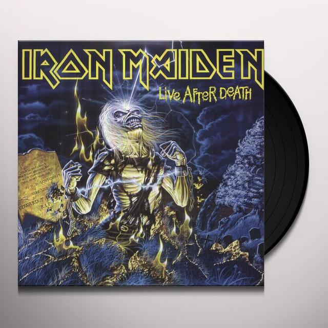 Iron Maiden LIVE AFTER DEATH (PICTURE DISC) Vinyl Record - Picture Disc, Remastered