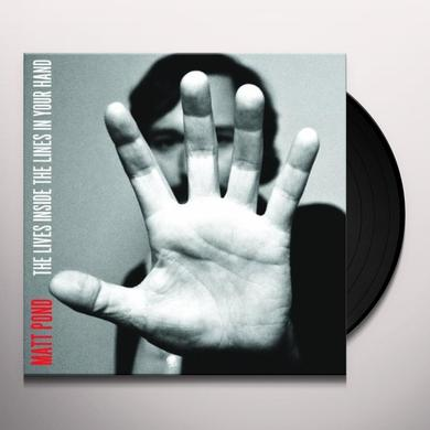 Matt Pond LIVES INSIDE THE LINES IN YOUR HAND Vinyl Record