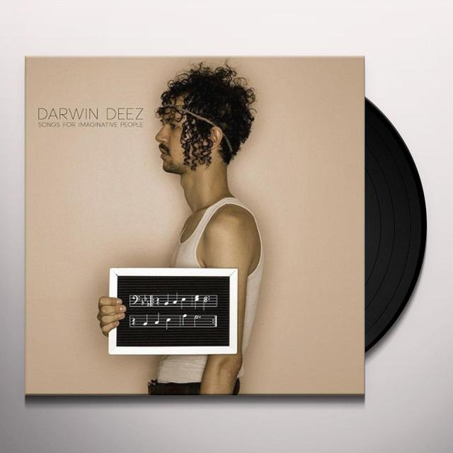 Darwin Deez SONGS FOR IMAGINATIVE PEOPLE (Vinyl)
