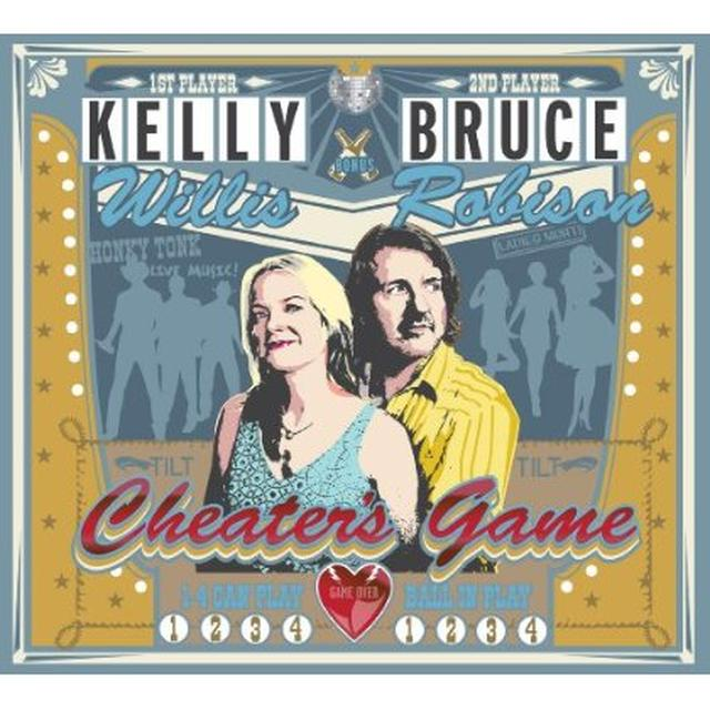 Kelly Willis & Bruce Robison CHEATER'S GAME Vinyl Record