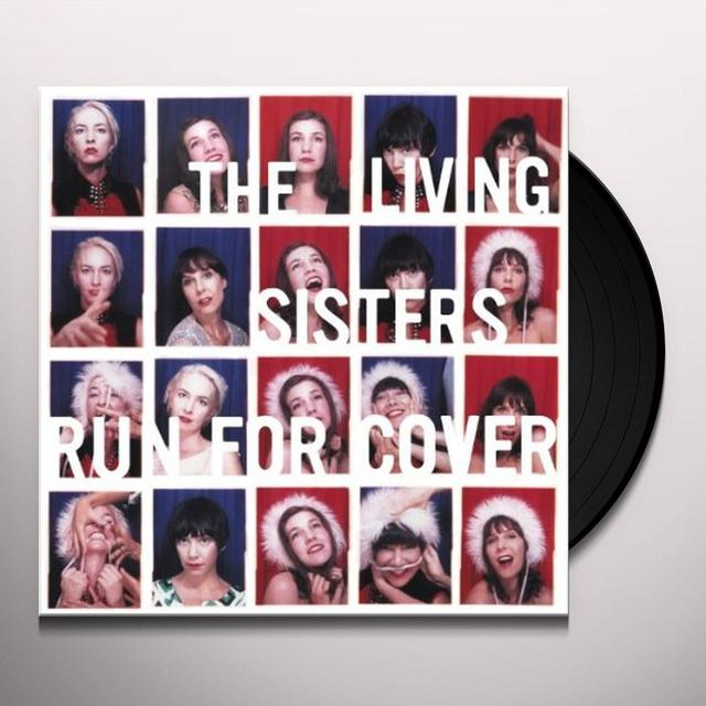 Living Sisters RUN FOR COVER Vinyl Record