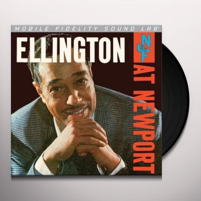 Duke Ellington ELLINGTON AT NEWPORT Vinyl Record - Limited Edition, 180 Gram Pressing